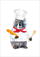 Chef Squirrel