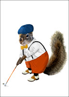 Golf Squirrel